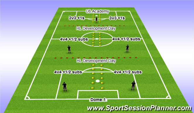 Football/Soccer Session Plan Drill (Colour): Dec 8 @ 5pm