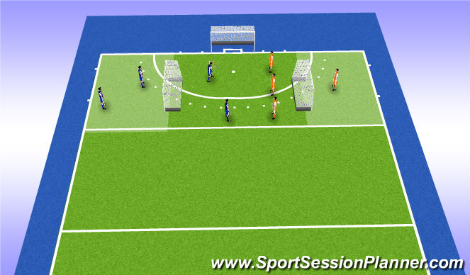 Hockey Session Plan Drill (Colour): match: chinese hockey