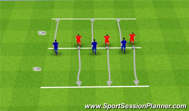 Football/Soccer Session Plan Drill (Colour): Czarno białe.