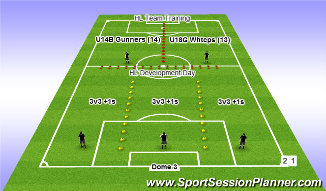 Football/Soccer Session Plan Drill (Colour): Dec 8 @ 6pm