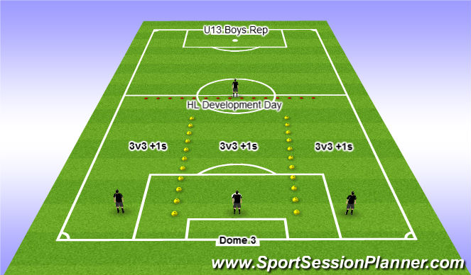 Football/Soccer Session Plan Drill (Colour): Dec 10 @ 6pm
