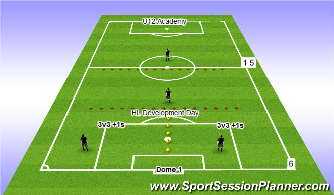 Football/Soccer Session Plan Drill (Colour): Dec 8 @ 7pm