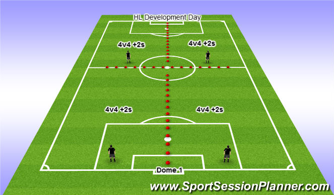 Football/Soccer Session Plan Drill (Colour): Dec 9,11,