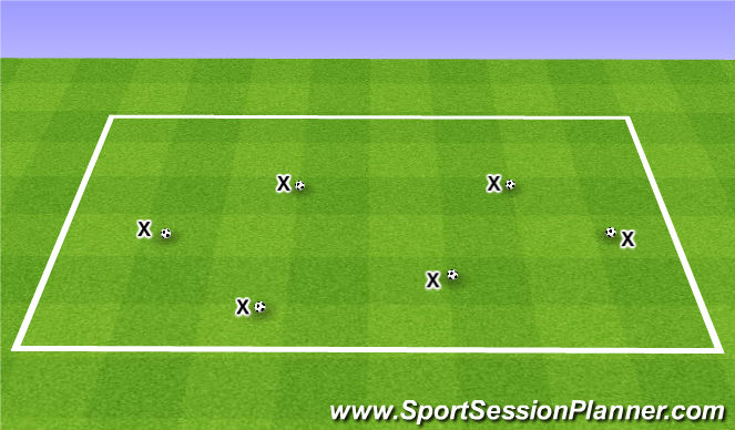 Football/Soccer Session Plan Drill (Colour): ABC's