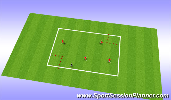 Football/Soccer Session Plan Drill (Colour): Activity tag