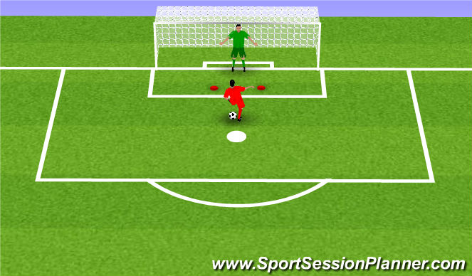 Football/Soccer Session Plan Drill (Colour): Blocked session (1)