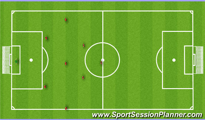 Football/Soccer Session Plan Drill (Colour): Leyton Orient Vs Bailey Elite