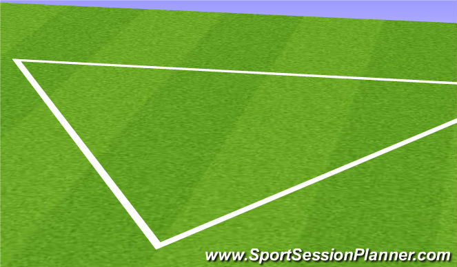Football/Soccer Session Plan Drill (Colour): 11v11 To Start tomorrow
