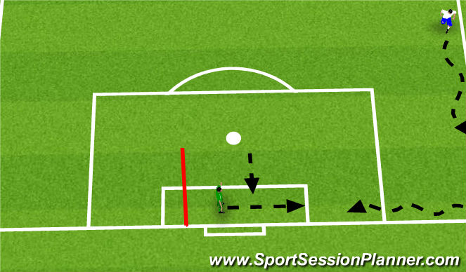 Football/Soccer Session Plan Drill (Colour): warm up-1
