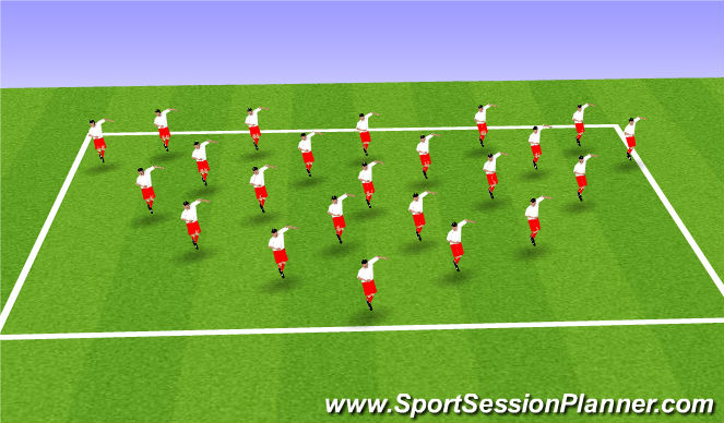 Football/Soccer Session Plan Drill (Colour): Technical (Beastmode)