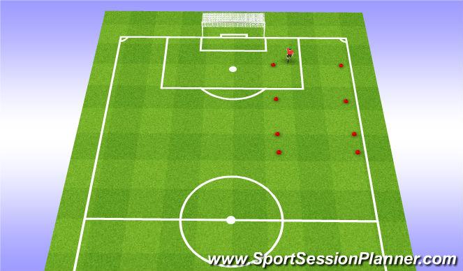 Football/Soccer Session Plan Drill (Colour): 12min run