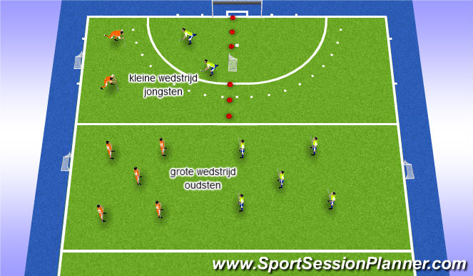 Hockey Session Plan Drill (Colour): match