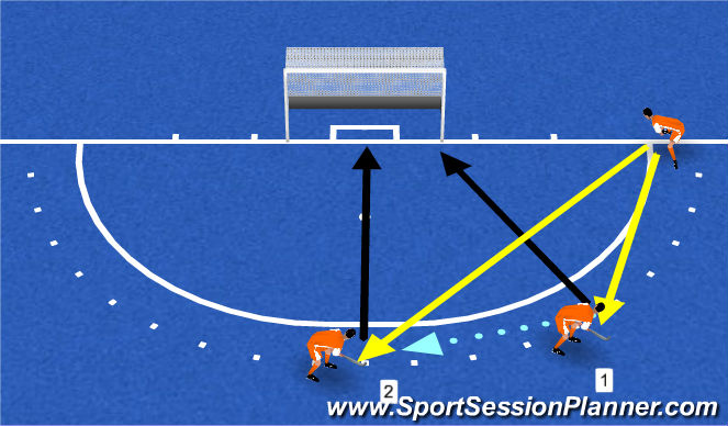 Hockey Session Plan Drill (Colour): pc