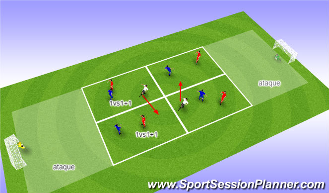 Football/Soccer Session Plan Drill (Colour): Posesion 5vs + 2 comodines.