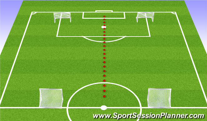 Football/Soccer Session Plan Drill (Colour): SSG - Tourney