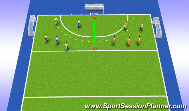 Hockey Session Plan Drill (Colour): game