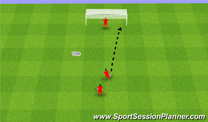 Football/Soccer Session Plan Drill (Colour): Król.