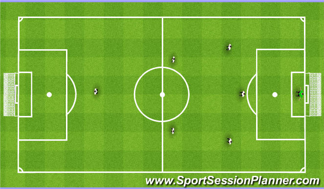 Football/Soccer Session Plan Drill (Colour): Ayr Formation