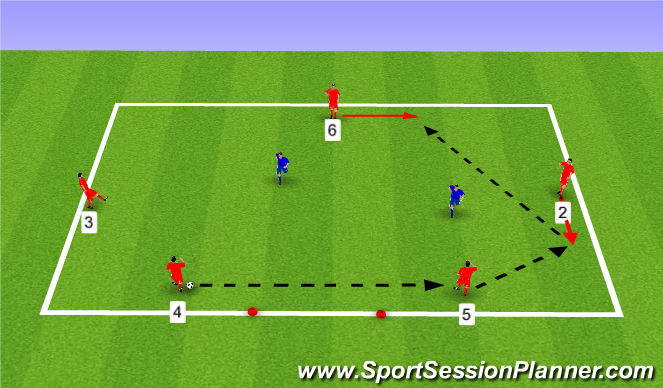 Football/Soccer Session Plan Drill (Colour): POB Techical
