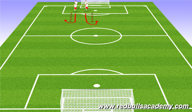 Football/Soccer Session Plan Drill (Colour): FIFA 11+/Dynamic