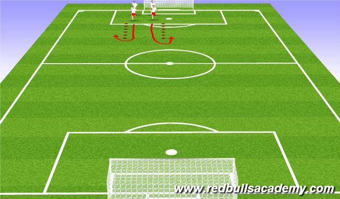 Football/Soccer Session Plan Drill (Colour): FIFA 11+/Dynamic