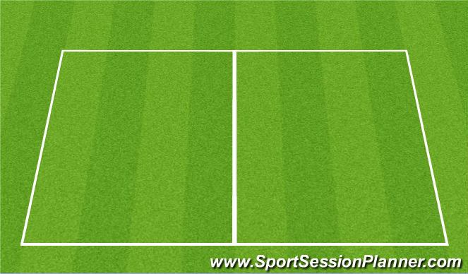 Football/Soccer Session Plan Drill (Colour): Ball Retreival Game