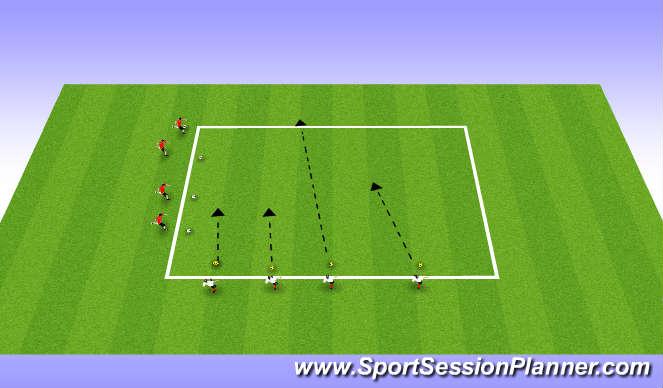 Football/Soccer Session Plan Drill (Colour): Starwars