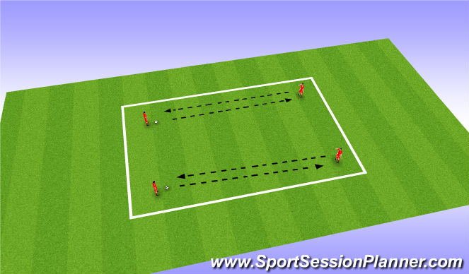 Football/Soccer Session Plan Drill (Colour): Throwing Practice