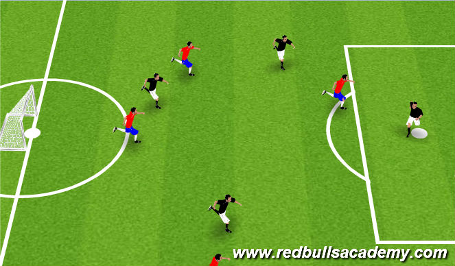 Football/Soccer Session Plan Drill (Colour): Tournament / Free Play