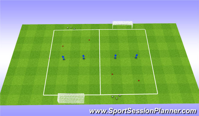 Football/Soccer Session Plan Drill (Colour): Session Design