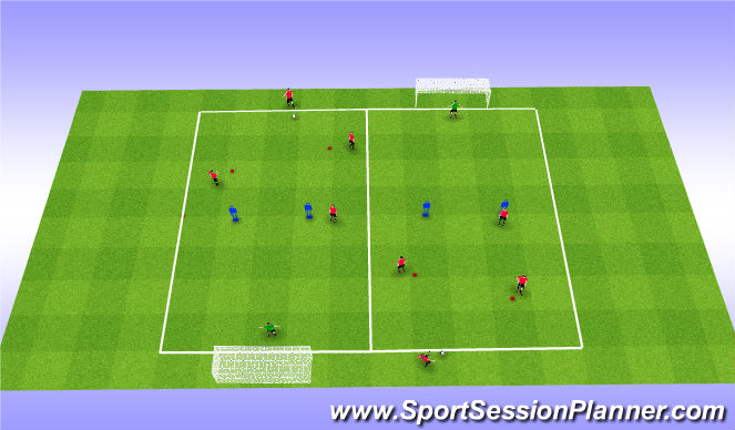 Football/Soccer Session Plan Drill (Colour): P3) Player experiment