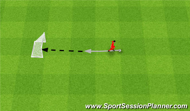 Football/Soccer Session Plan Drill (Colour): Podeszwa.