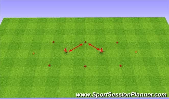 Football/Soccer Session Plan Drill (Colour): Lustro