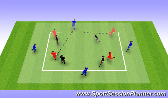 Football/Soccer Session Plan Drill (Colour): pase 4
