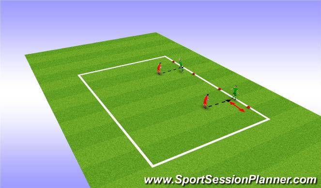 Football/Soccer Session Plan Drill (Colour): Handling