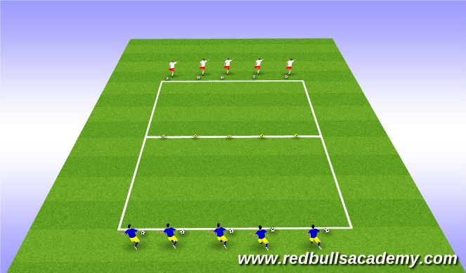 Football/Soccer Session Plan Drill (Colour): Red Bull Trophies (Version 2)