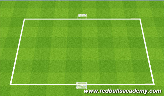 Football/Soccer Session Plan Drill (Colour): Dribbling Conditioned Game (Basic)