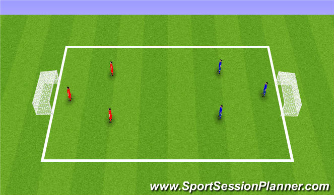 Football/Soccer Session Plan Drill (Colour): Instant Shooting