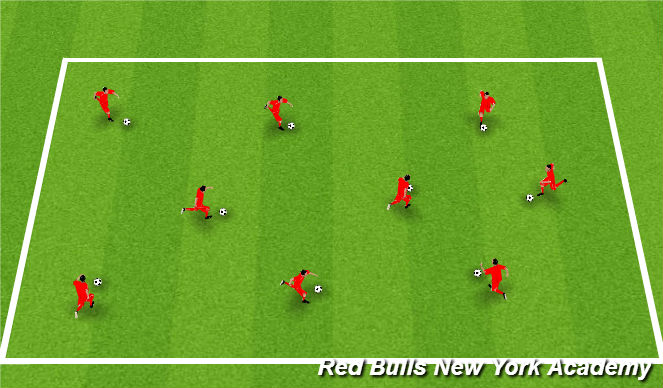 Football/Soccer Session Plan Drill (Colour): Zoo Animals