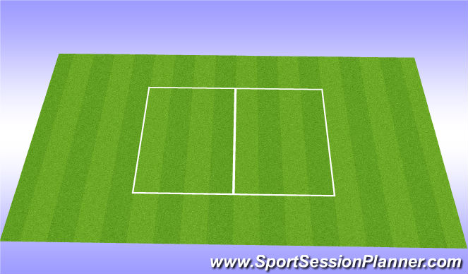 Football/Soccer Session Plan Drill (Colour): 4v4 Line Soccer
