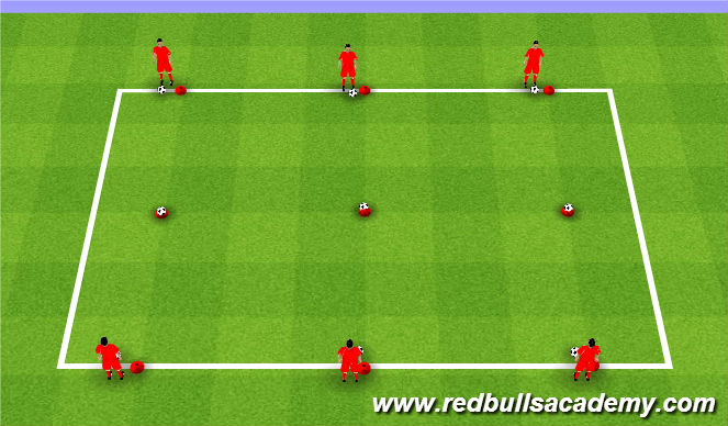 Football/Soccer Session Plan Drill (Colour): Passing Tournament
