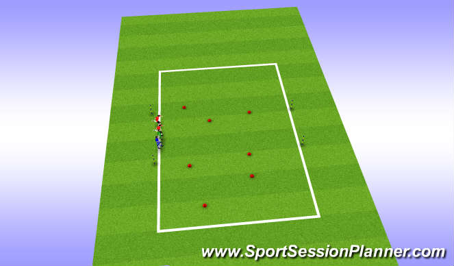 Football/Soccer Session Plan Drill (Colour): Spongebob square pants
