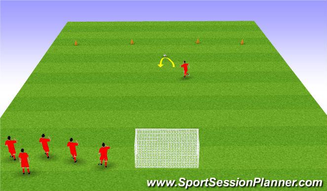 Football/Soccer Session Plan Drill (Colour): Beach Ball