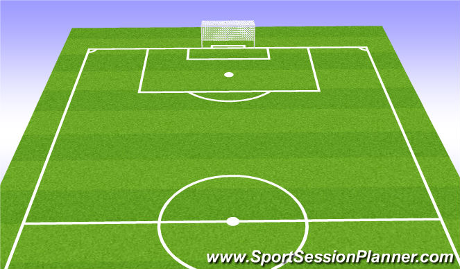 Football/Soccer Session Plan Drill (Colour): Team Task, Player Tasks, Coach Cues