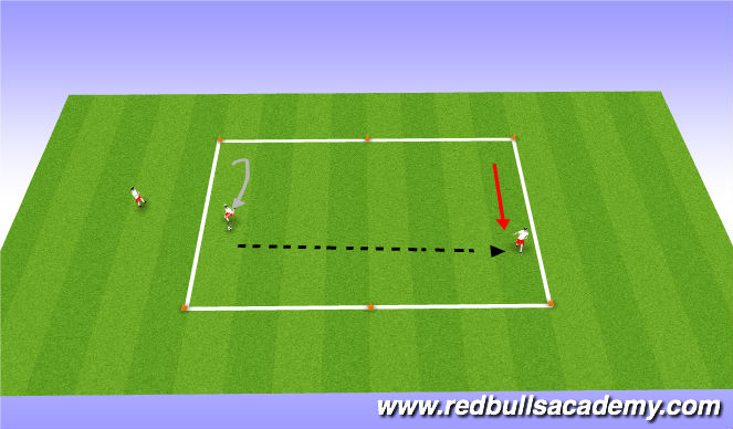 Football/Soccer Session Plan Drill (Colour): Skilldevelopment( no pressure)