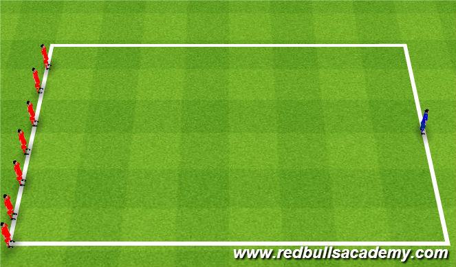 Football/Soccer Session Plan Drill (Colour): Flight Training