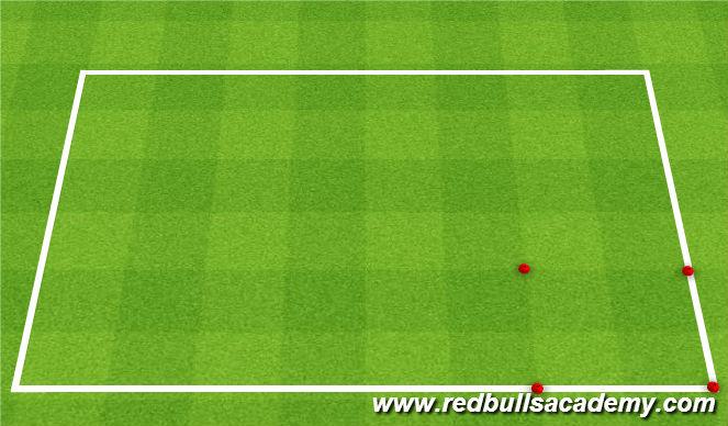 Football/Soccer Session Plan Drill (Colour): Beat the Villian