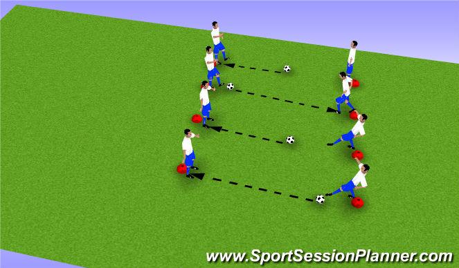 football soccer 3rd week lsys u6 passing technical passing receiving beginner. Black Bedroom Furniture Sets. Home Design Ideas