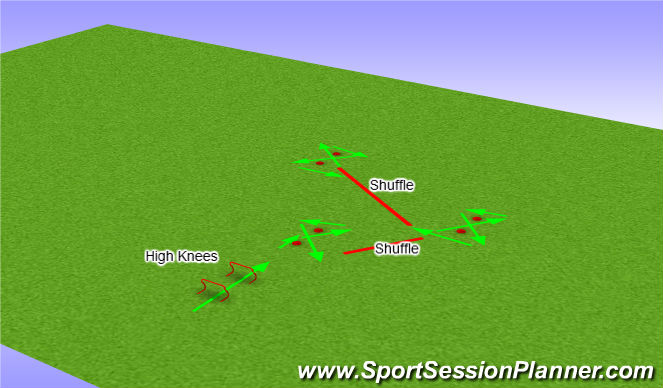 Football/Soccer Session Plan Drill (Colour): Crazy 8's