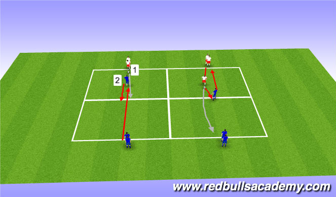 Football/Soccer Session Plan Drill (Colour): Warm-up/SAQ/Weak foot